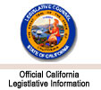 Official California Legistlative Information